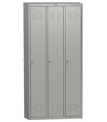 Шкаф для одежды на 3 секции ПРАКТИК LS-31