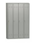 Шкаф для одежды 4-х секционный ПРАКТИК LS-41